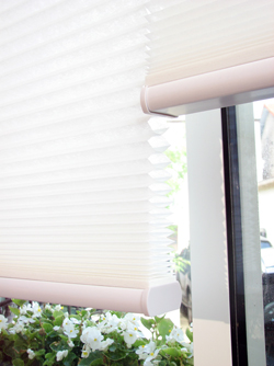 Easy Elegance Blinds Trim-at-Home Cordless Cellular Light Filtering WHITE